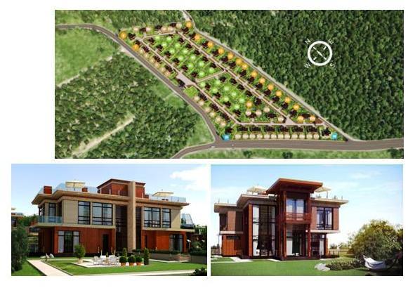 Генеральный план посёлка «FORTOPS.RU»