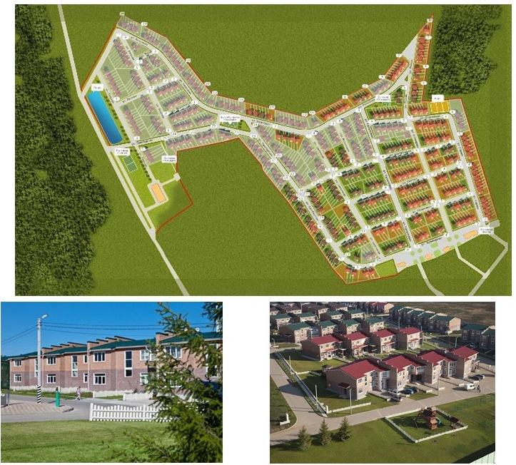 Генеральный план посёлка «Маленькая Шотландия»:
