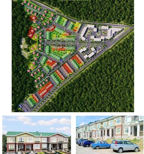 Генеральный план посёлка «Мечта»