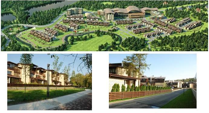 Генеральный план «Олимпийской деревни Новогорск»