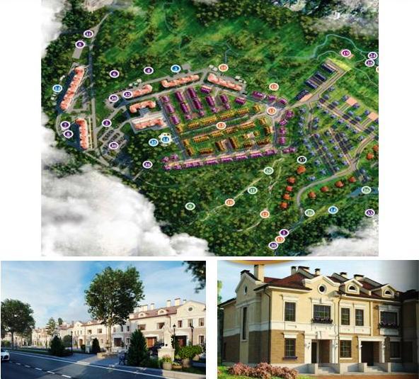 Генеральный план посёлка «Суханово Парк»