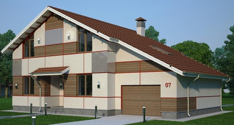 Вариант фасада-2