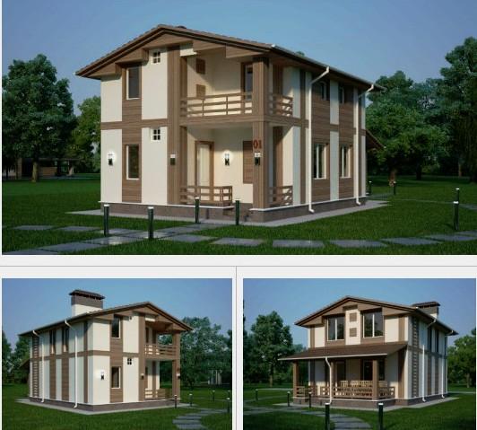Проект дома, 120 м.кв.