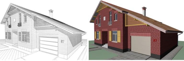 Новая концепция отделки фасадов - облицовочный кирпич
